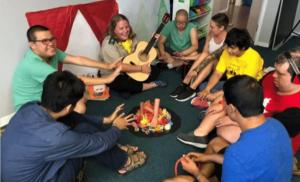 indoor camp activity