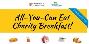 charity breakfast graphic