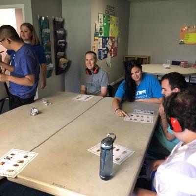 autism day program group activity