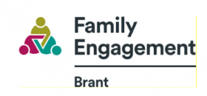 family engagement logo for the brant location