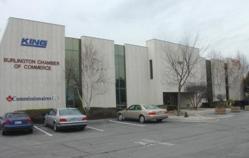 harvester road office, white coloured building