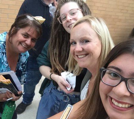 youth advocates selfie
