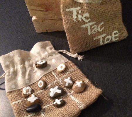hand made tic tac toe game