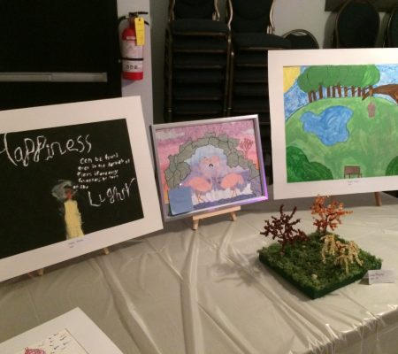 youth art display