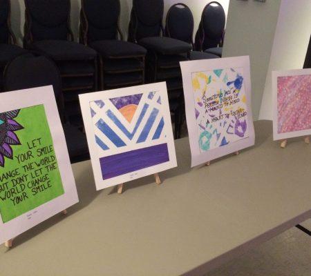 youth art display