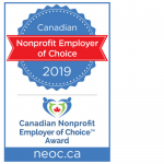NEOC 2019 award badge