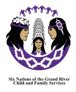 Six Nations of the Grand River Child and Family Services Logo