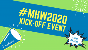 mental health week 2020 kick off event graphic