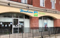Exterior of Woodview in the Square Building