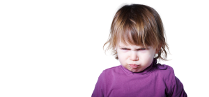 child pouting