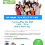 developmental assets workshop flyer
