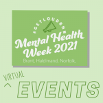 mental health week events graphic